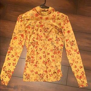 NWOT ZARA Floral top